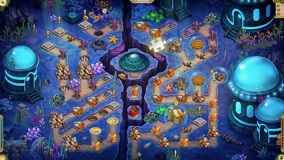 Alicia Quatermain 4 - Da Vinci and the Time Machine - Level 10 Puzzle Piece Location