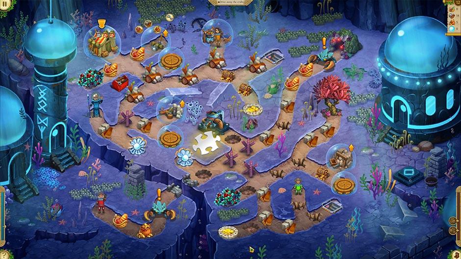 Alicia Quatermain 4 - Da Vinci and the Time Machine - Level 12 Puzzle Piece Location