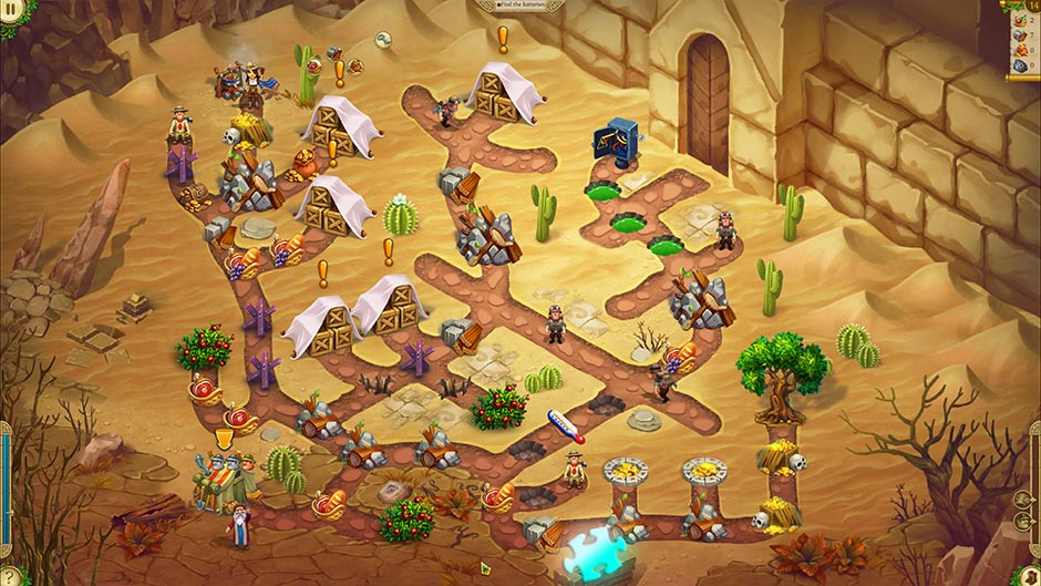 Alicia Quatermain 4 - Da Vinci and the Time Machine - Level 14 Puzzle Piece Location