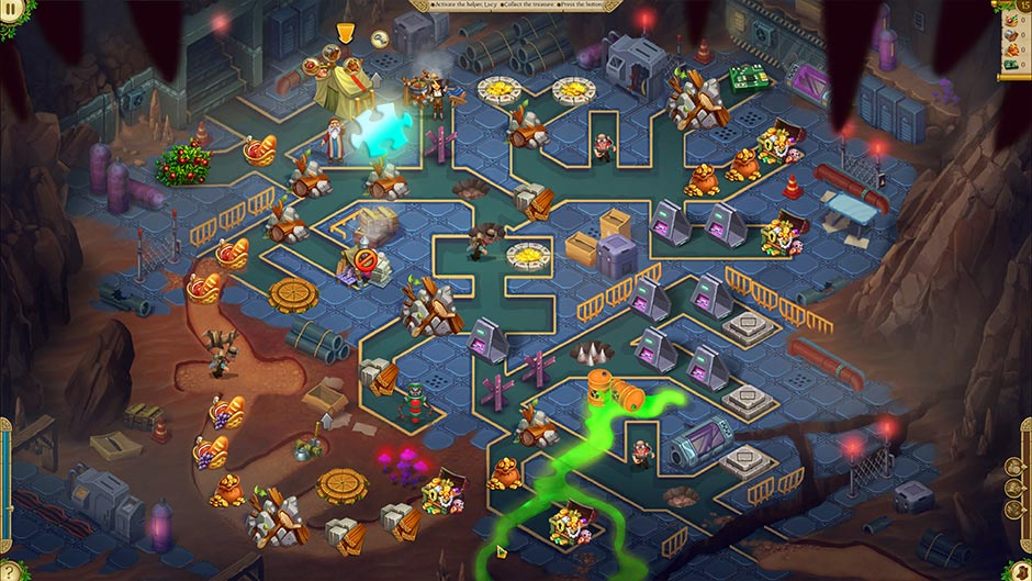 Alicia Quatermain 4 - Da Vinci and the Time Machine - Level 15 Puzzle Piece Location