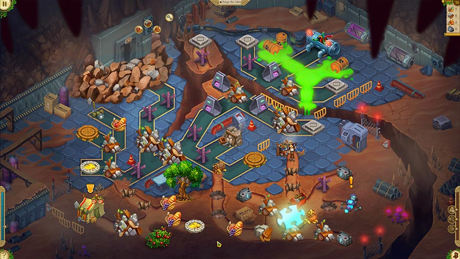 Alicia Quatermain 4 - Da Vinci and the Time Machine - Level 16 Puzzle Piece Location