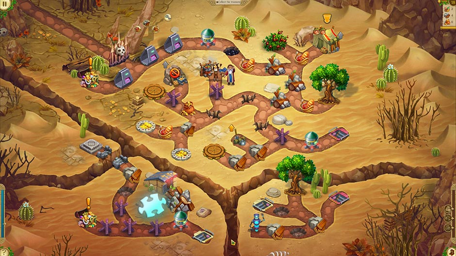 Alicia Quatermain 4 - Da Vinci and the Time Machine - Level 18 Puzzle Piece Location
