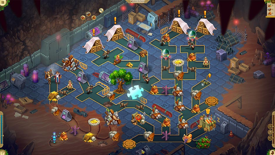 Alicia Quatermain 4 - Da Vinci and the Time Machine - Level 19 Puzzle Piece Location