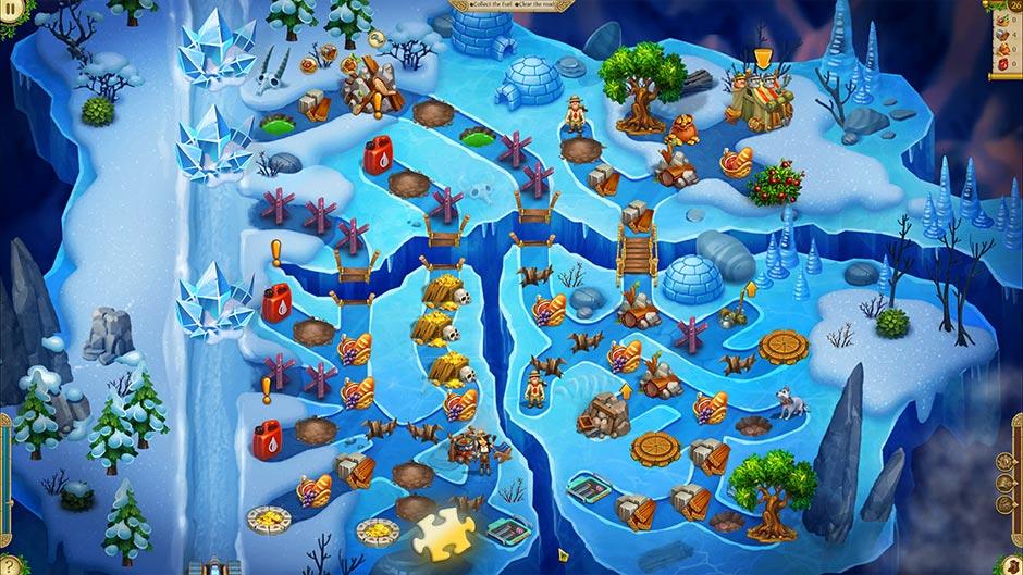 Alicia Quatermain 4 - Da Vinci and the Time Machine - Level 26 Puzzle Piece Location