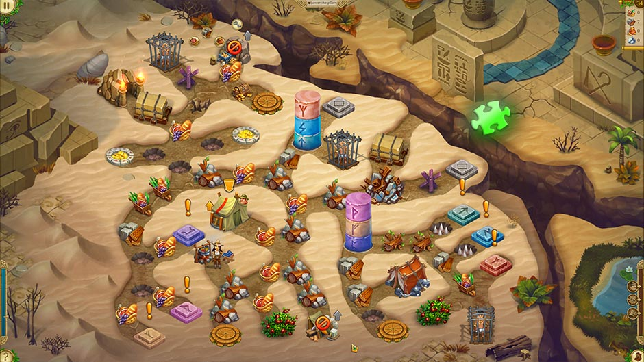 Alicia Quatermain 4 - Da Vinci and the Time Machine - Level 34 Puzzle Piece Location
