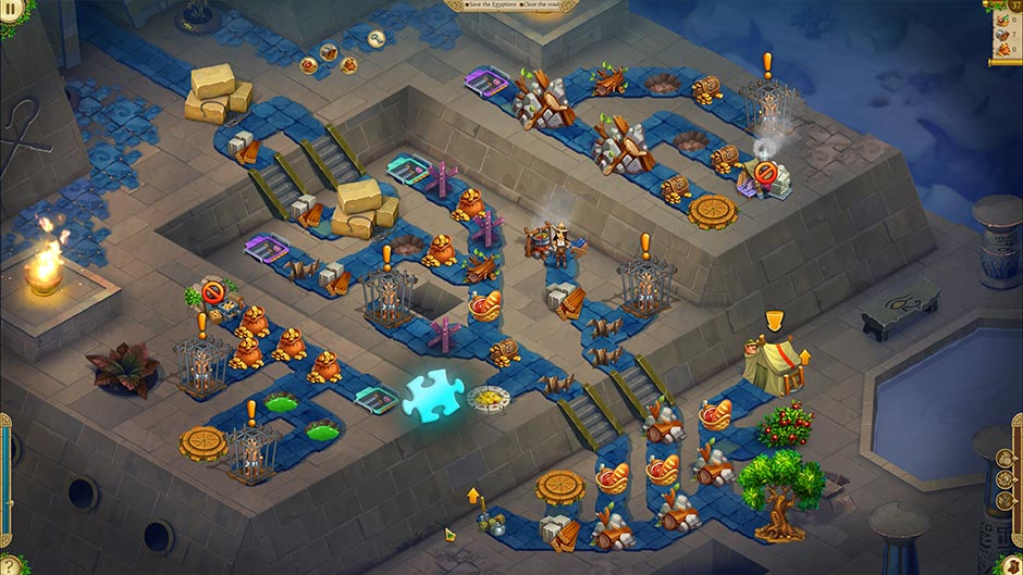 Alicia Quatermain 4 - Da Vinci and the Time Machine - Level 37 Puzzle Piece Location