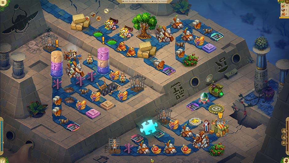 Alicia Quatermain 4 - Da Vinci and the Time Machine - Level 38 Puzzle Piece Location
