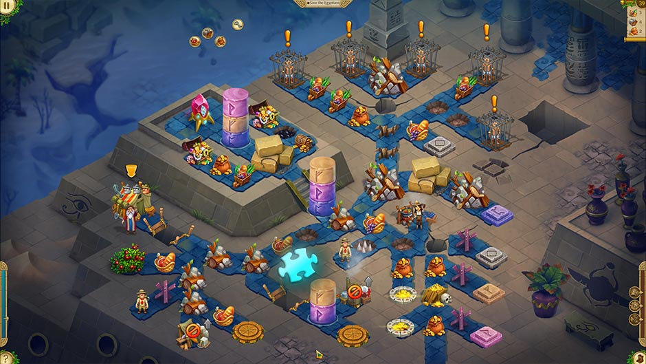 Alicia Quatermain 4 - Da Vinci and the Time Machine - Level 39 Puzzle Piece Location