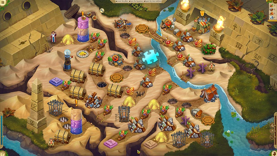 Alicia Quatermain 4 - Da Vinci and the Time Machine - Level 40 Puzzle Piece Location