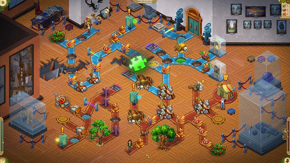 Alicia Quatermain 4 - Da Vinci and the Time Machine - Level 42 Puzzle Piece Location
