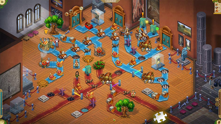Alicia Quatermain 4 - Da Vinci and the Time Machine - Level 43 Puzzle Piece Location