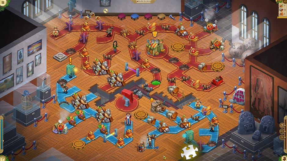 Alicia Quatermain 4 - Da Vinci and the Time Machine - Level 45 Puzzle Piece Location
