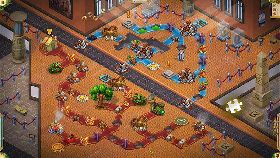 Alicia Quatermain 4 - Da Vinci and the Time Machine - Level 47 Puzzle Piece Location