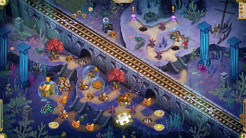 Alicia Quatermain 4 - Da Vinci and the Time Machine - Level 5 Puzzle Piece Location
