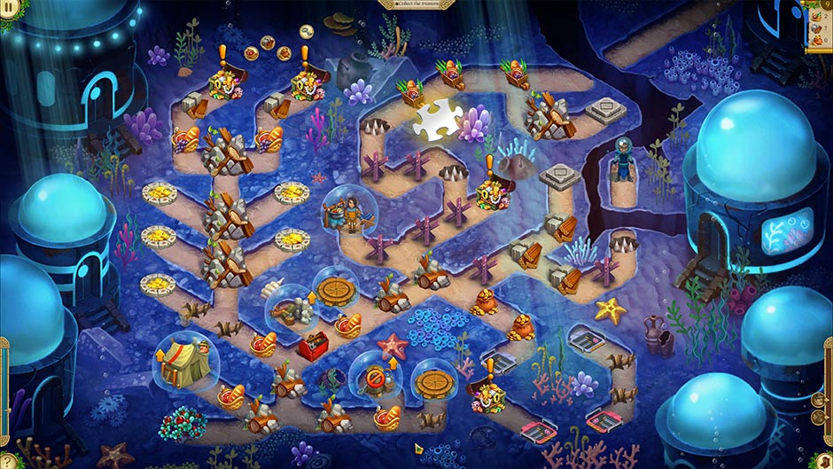 Alicia Quatermain 4 - Da Vinci and the Time Machine - Level 9 Puzzle Piece Location