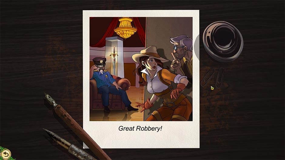 Alicia Quatermain 4 - Da Vinci and the Time Machine - Puzzle Solution - Great Robbery