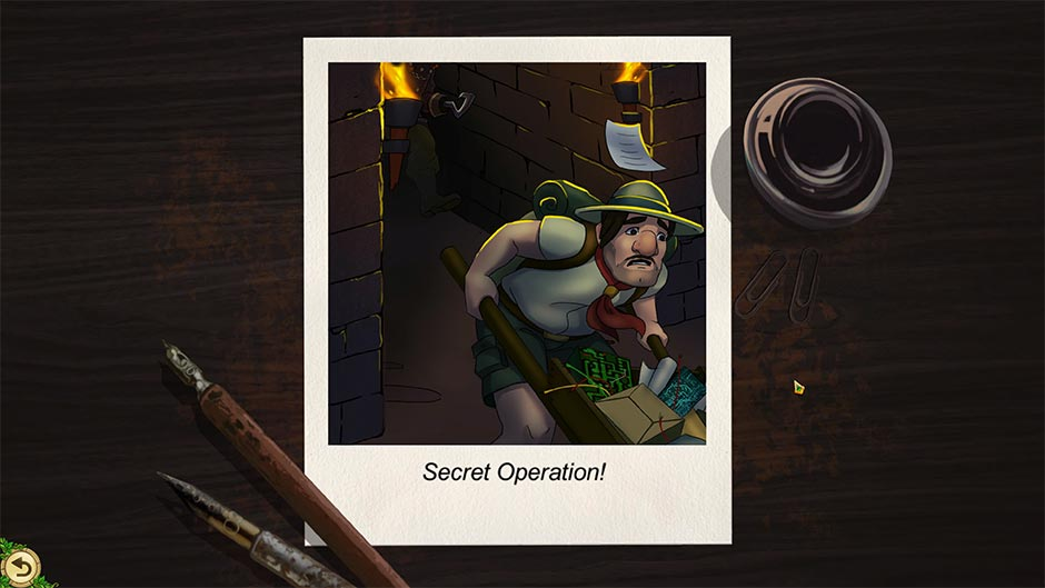 Alicia Quatermain 4 - Da Vinci and the Time Machine - Puzzle Solution - Secret Operation