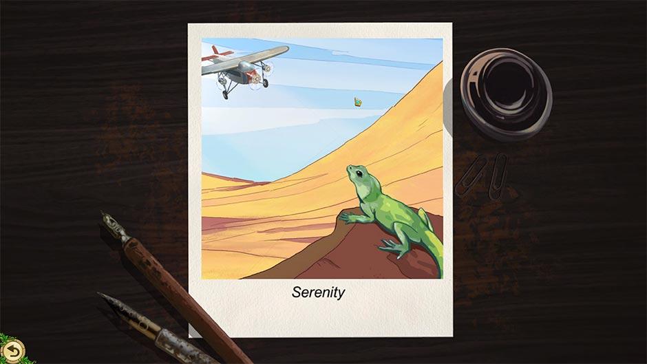 Alicia Quatermain 4 - Da Vinci and the Time Machine - Puzzle Solution - Serenity