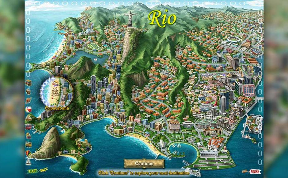 Big City Adventure - Rio de Janeiro - GameHouse