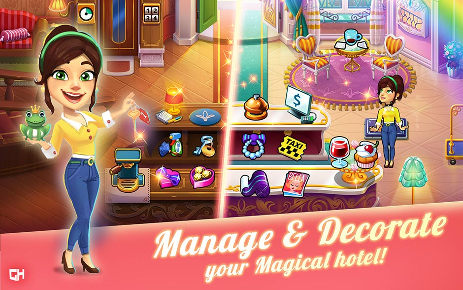 Coming Soon! Hotel Ever After - Ella's Wish Collector's Edition - GameHouse Original Stories Exclusive