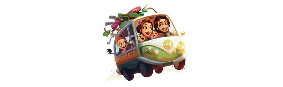 Delicious - Emily's Road Trip Official Art - GameHouse