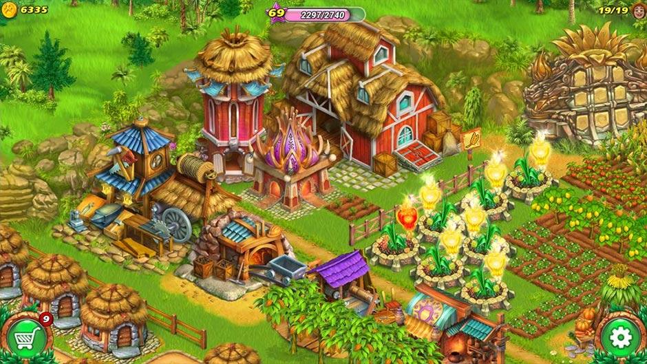 Farm Tribe - Dragon Island