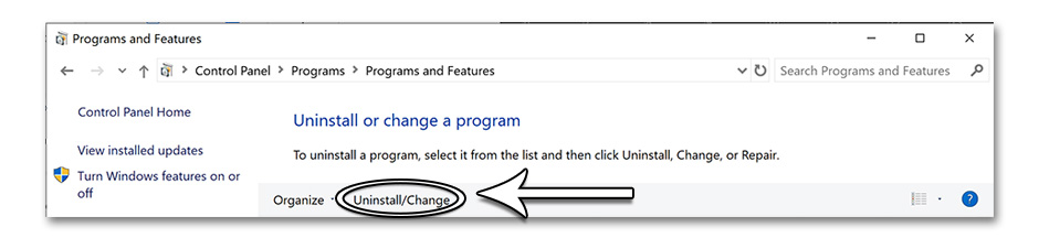 Step 4 - How to Uninstall a Program in Windows 10 - GameHouse