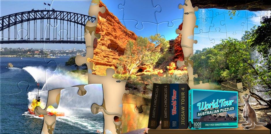 1001 Jigsaw World Tour - Australian Puzzles - GameHouse
