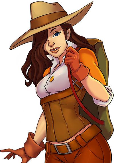 Alicia Quatermain 4 - Official Art - GameHouse