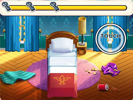 Hotel Ever After - Ella's Wish Official Walkthrough - Minigame - Clean the room!