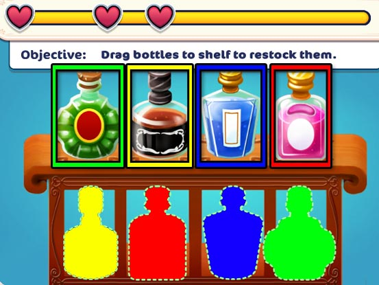 Hotel Ever After - Ella's Wish Official Walkthrough - Minigame - Restock the liquor!