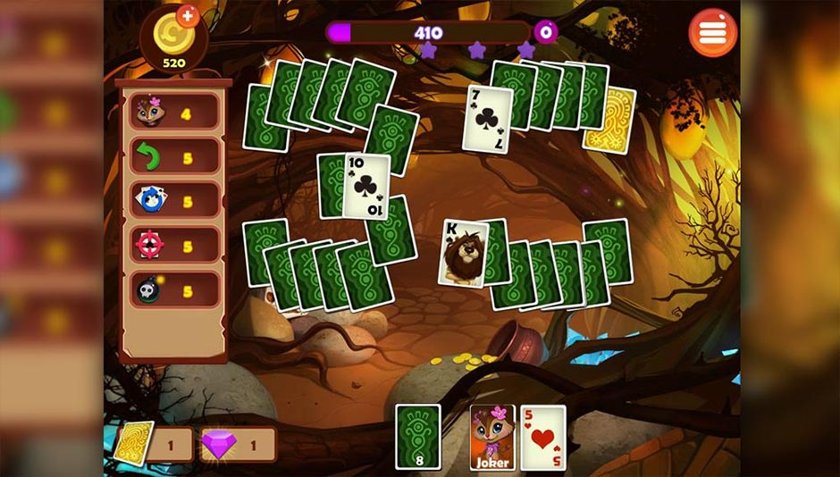 Rainforest Solitaire 2 - GameHouse