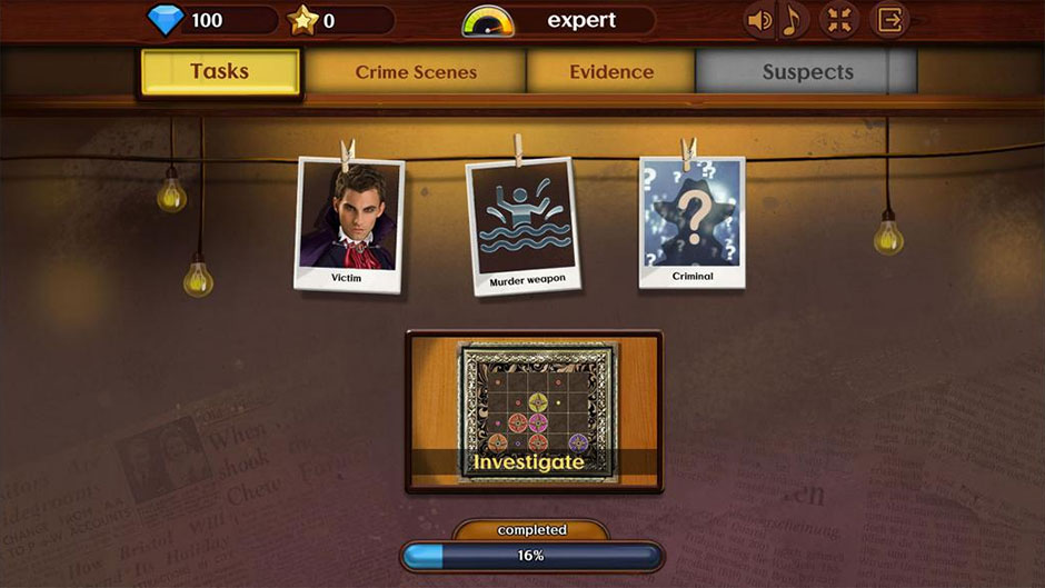 Detective Investigations - GameHouse