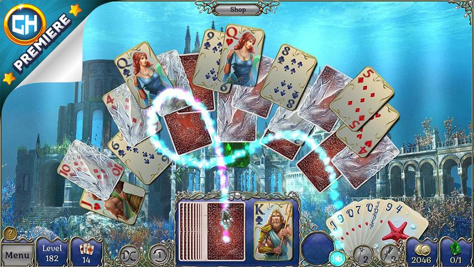Jewel Match Atlantis Solitaire - GameHouse Premiere Exclusive