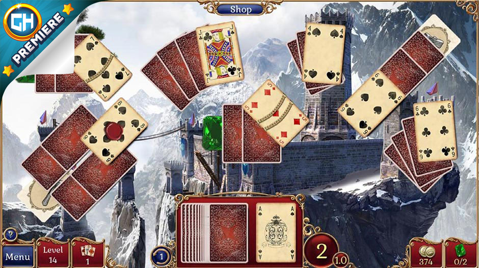 Jewel Match Solitaire 2 Collector's Edition - GameHouse Premiere Exclusive
