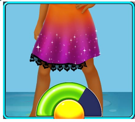 Fabulous - New York to LA Official Walkthrough - Add Lace to the Skirt Minigame
