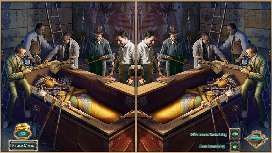 Zapplin Time! The Roaring Twenties - King Tut's Tomb - GameHouse Exclusive Preview