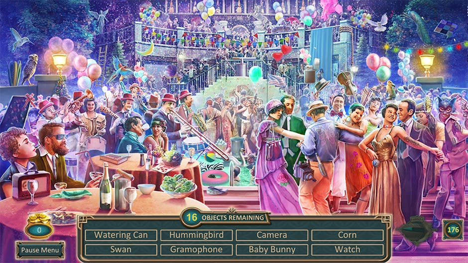 Zapplin Time! The Roaring Twenties - Mansion Party - GameHouse Exclusive Preview