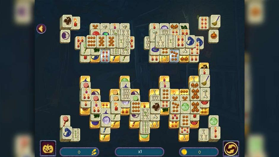 Halloween Night Mahjong - GameHouse