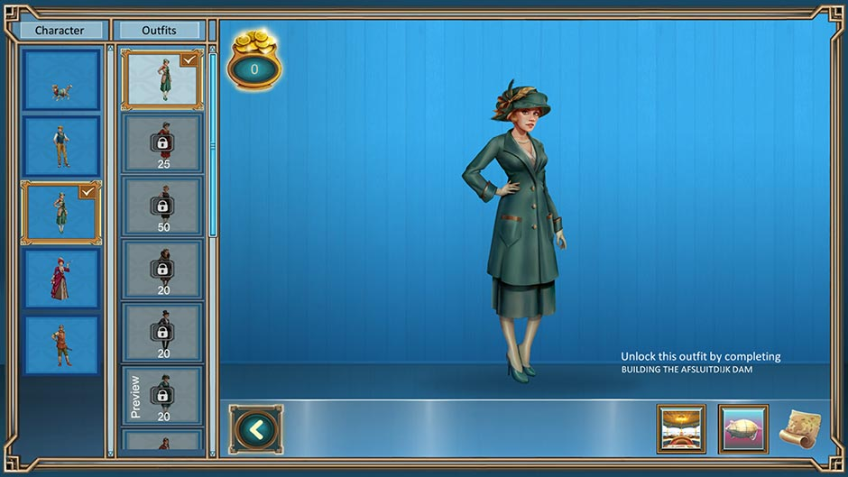 Zapplin Time! The Roaring Twenties - Customize Outfits and Costumes
