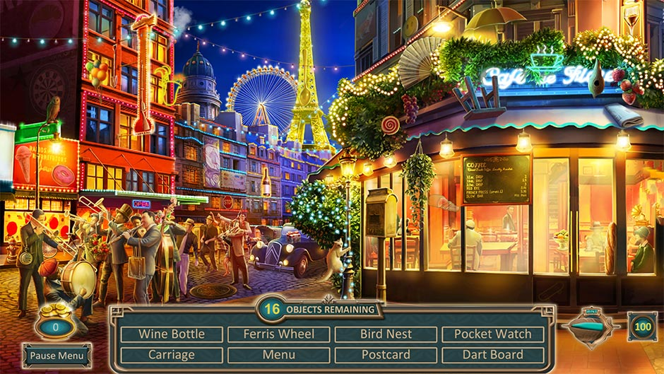Zapplin Time! The Roaring Twenties - Find Hidden Objects!