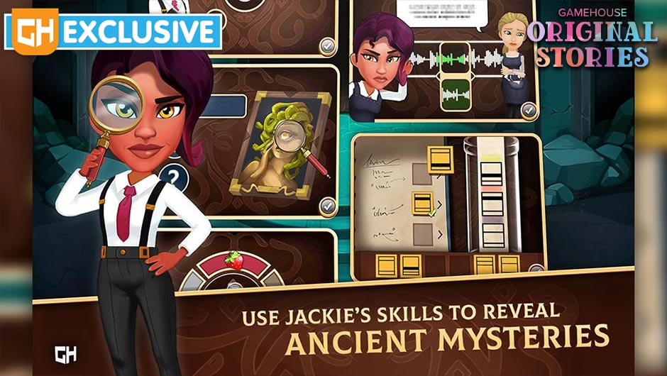 Detective Jackie - Mystic Case Collector's Edition - GameHouse Original Stories Exclusive
