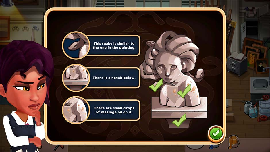Detective Jackie - Mystic Case - Official Walkthrough - Level 17