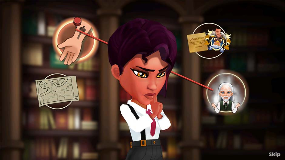 Detective Jackie - Mystic Case - Official Walkthrough - Level 38 Connect the Evidence