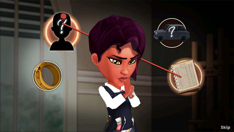 Detective Jackie - Mystic Case - Official Walkthrough - Level 5 Connect the Evidence