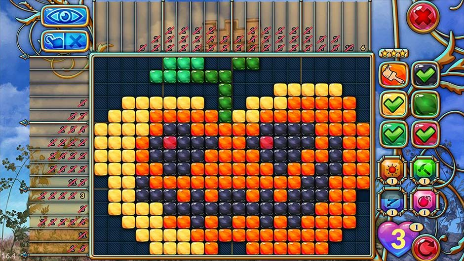 Travel Mosaics 10 - Spooky Halloween - GameHouse