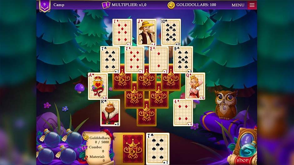 Wizard's Quest Solitaire - GameHouse