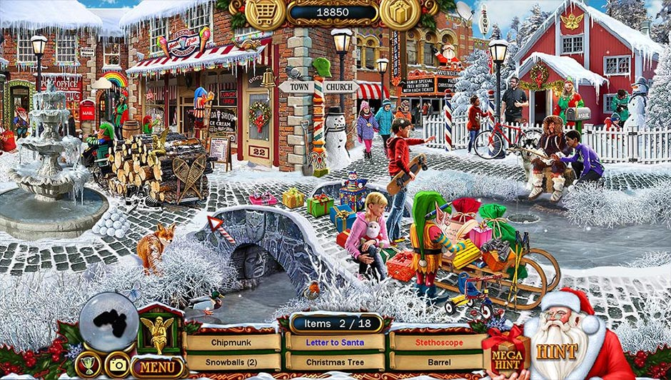 Christmas Wonderland 10 Collector's Edition - GameHouse