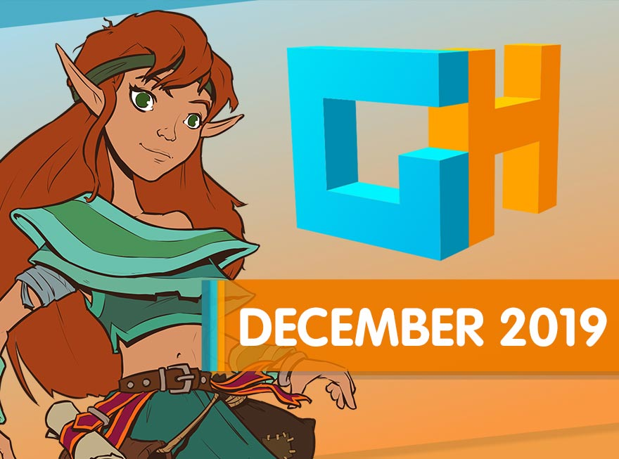 Holiday Wrap-Up and the Gift of Games! GameHouse Monthly Recap