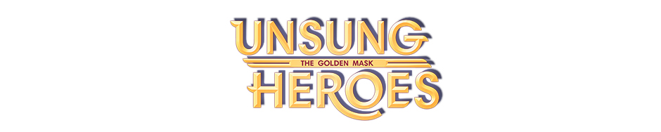 Unsung Heroes - The Golden Mask Official Walkthrough - Game Logo